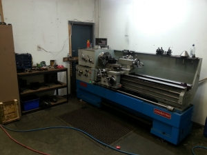 We have a lathe!!